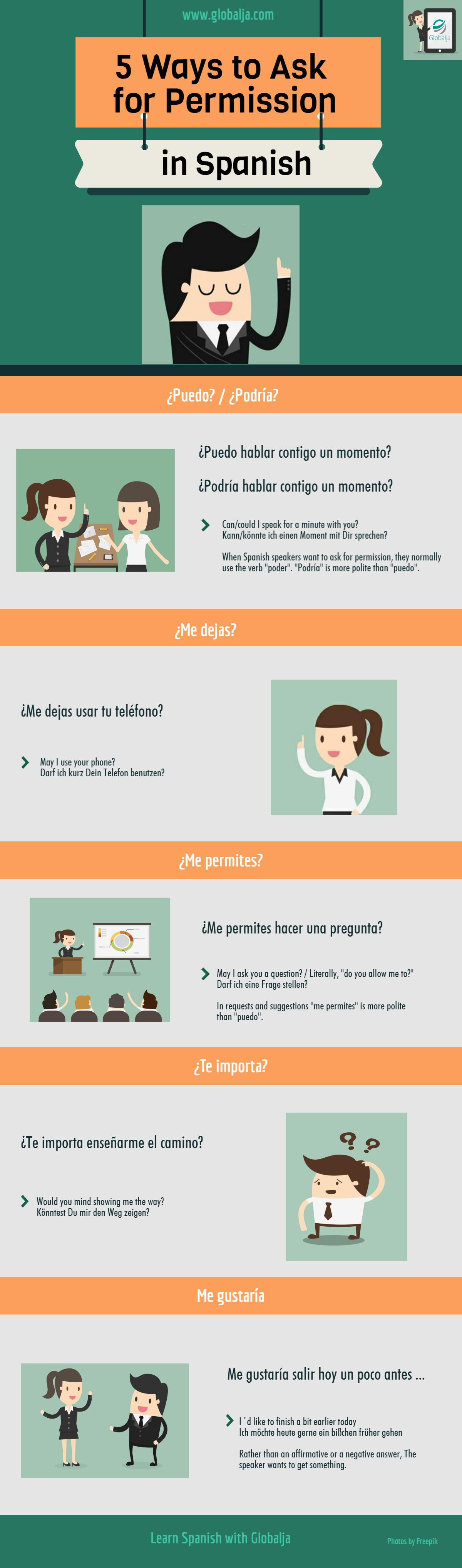 5 Ways to Ask for Permission in Spanish
