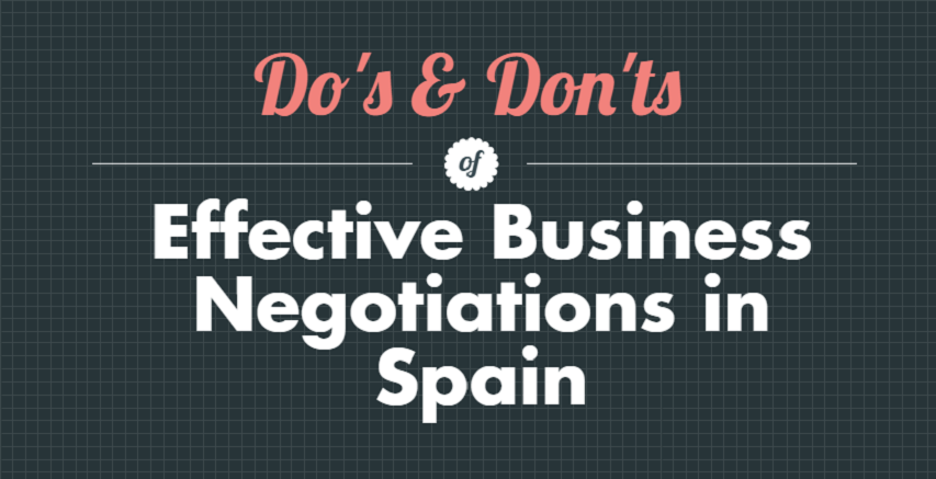 Do´s and Don´ts of Effective Business Negotiations in Spain