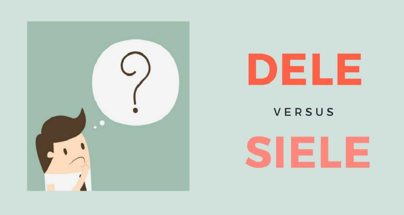 DELE versus SIELE – Globalja